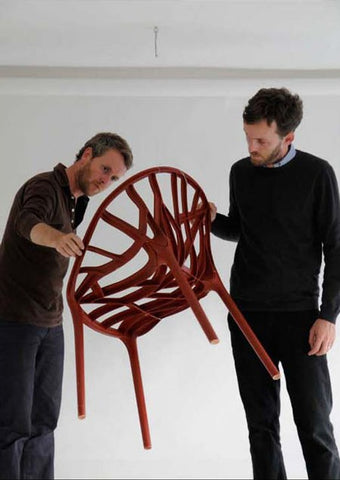 The Bouroullec Brothers Studying their design