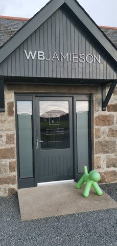 WB Jamieson front door with Green Puppy