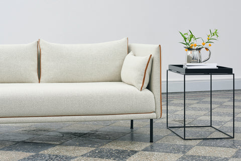 The Hay silhouette sofa in an natural fabric colourway - WB Jamieson