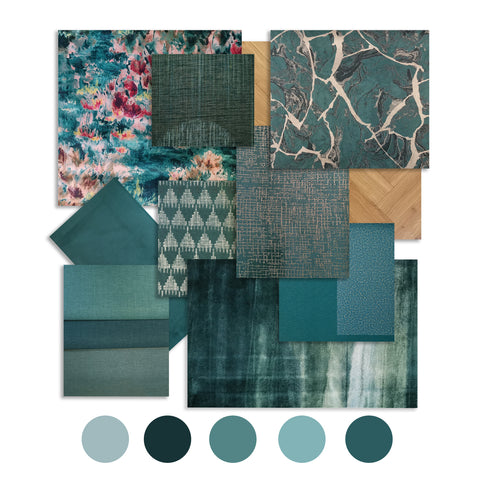 Teal - Colour trends, WB Jamieson