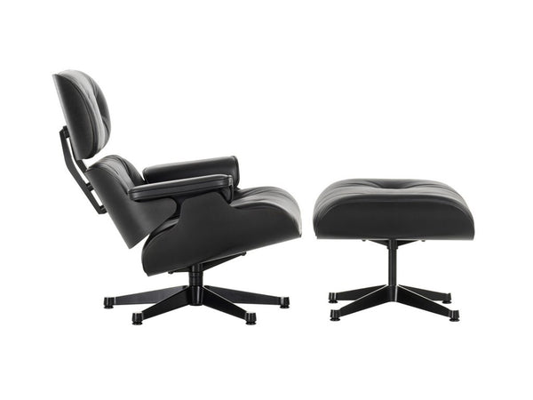 Black ash eames lounge chair