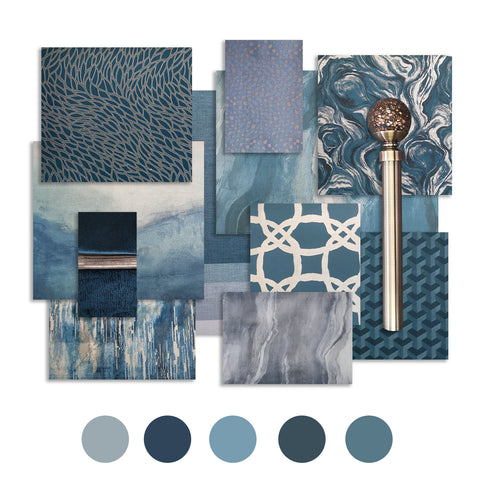 Blues - Colour trends, WB Jamieson