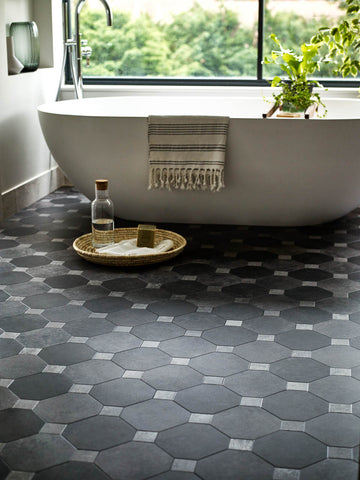 Bathroom Amtico vinyl tiles - WB Jamieson