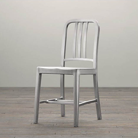 The Aluminium 1006 Navy chair from Emeco