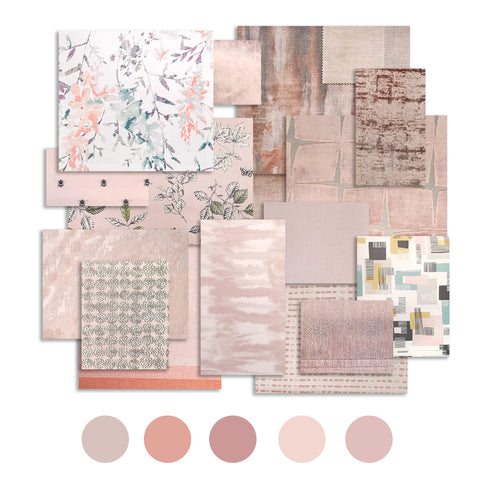 Pink - Colour trend, Soft furnishings - WB Jamieson