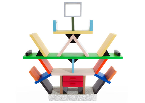 Post Modernism Bookcase - Ettore Sottsass