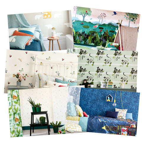 Villanova picture book wallcoverings and wallpaper