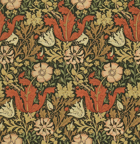 William Moris - Art Nouveau Wallpaper