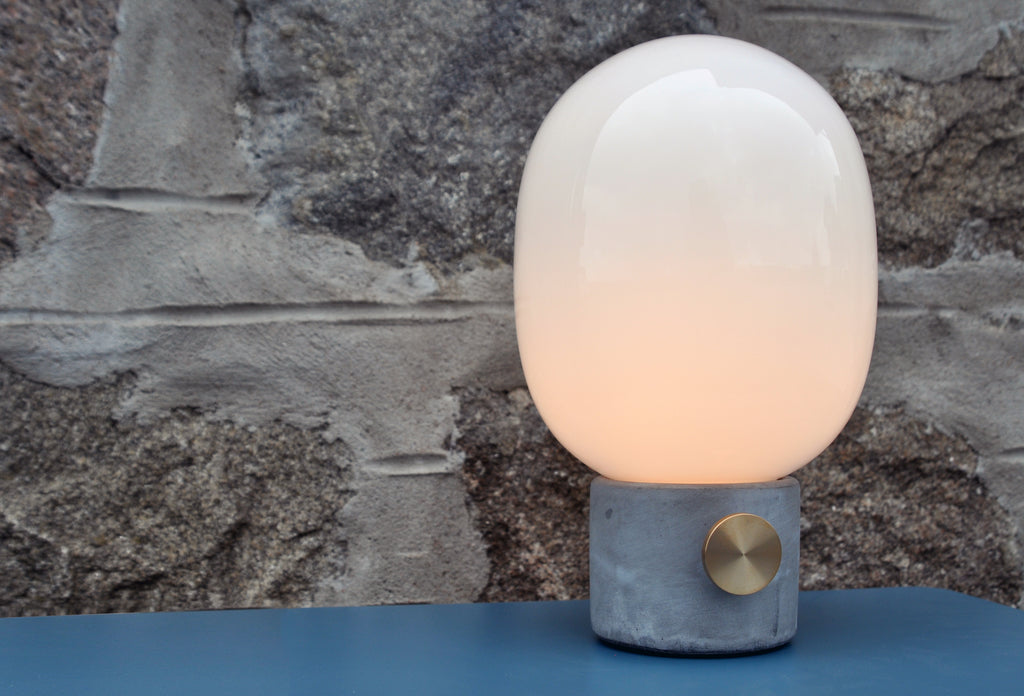 Menu - JWDA Concrete Lamp - In Stock - Lighting - Menu - WB Jamieson