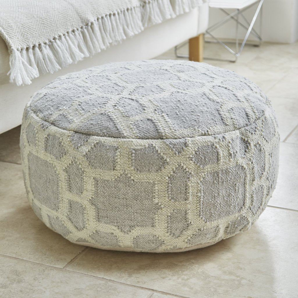 Weaver Green - Kasbah Smoke Footstool