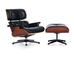 Vitra - Eames Lounge Chair & Ottoman (Cherry) - Chairs & stools - Vitra - WB Jamieson