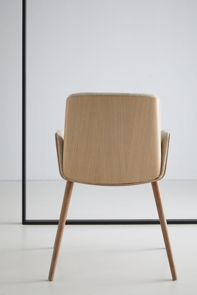 Punt - Hug Chair (Solid Wood Legs) - Chairs & stools - Punt - WB Jamieson