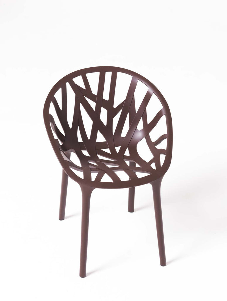Vitra chocolate Vegetal chair available from WB Jamieson. Furniture and interior design specialists.