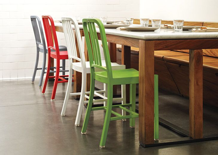 Emeco 111 Navy Chair Colours