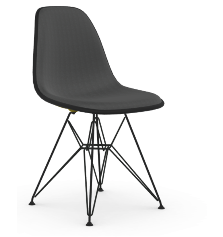 Vitra - Eames Plastic Side Chair DSR Upholstered - In Stock - ready to ship - Vitra - WB Jamieson