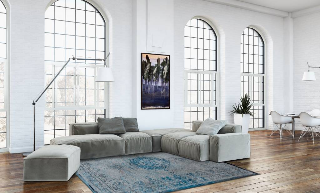 Louis De Poortere - Fading World Grey Turquoise 8255 Rug - In Stock - ready to ship - Louis De Poortere - WB Jamieson