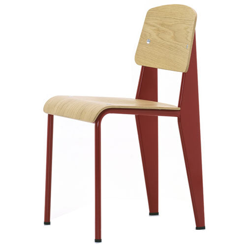 Vitra - Prouvé - Standard Chair - Japanese Red - In Stock - ready to ship - Vitra - WB Jamieson