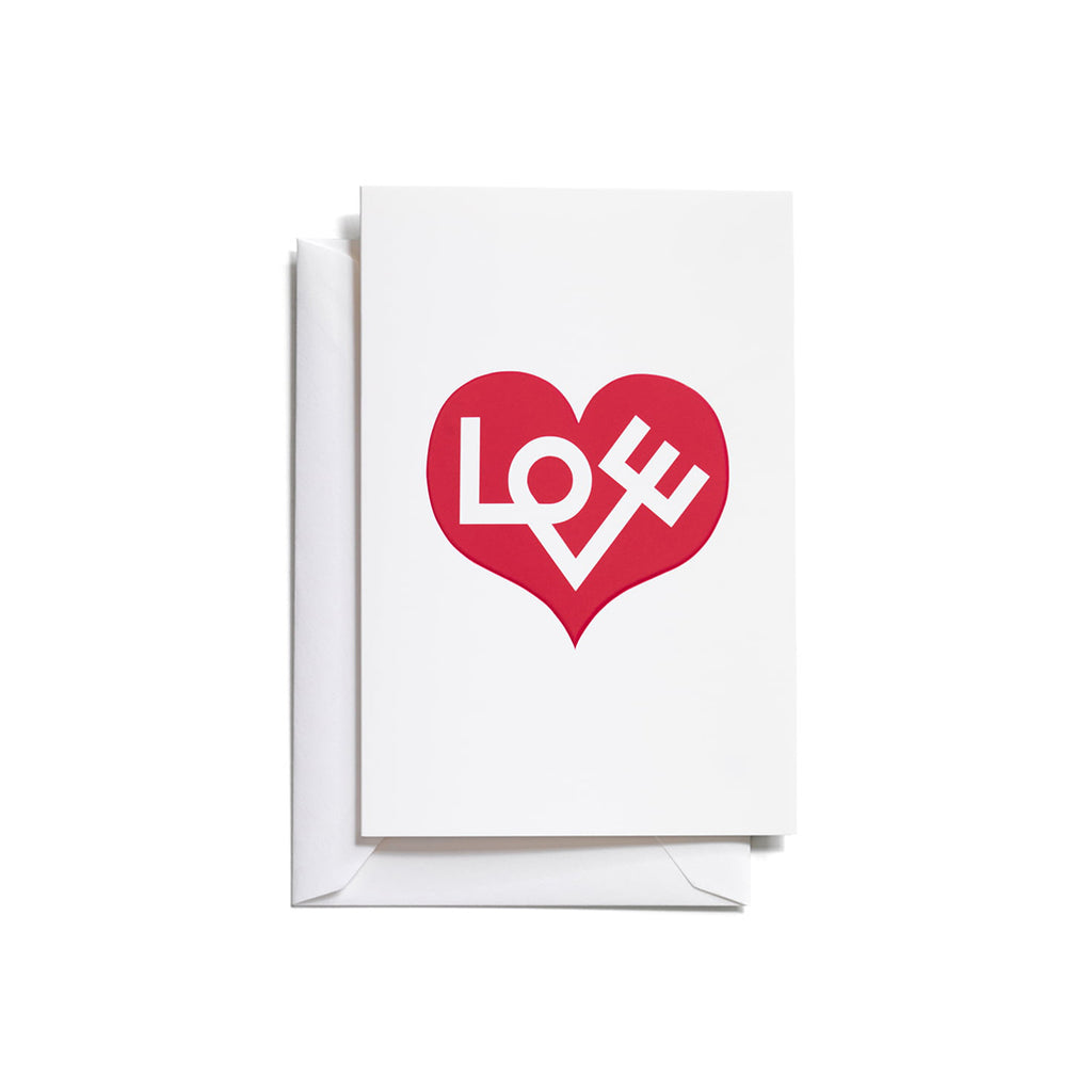 Vitra - Greetings Card Love - In Stock - Accessories - Vitra - WB Jamieson