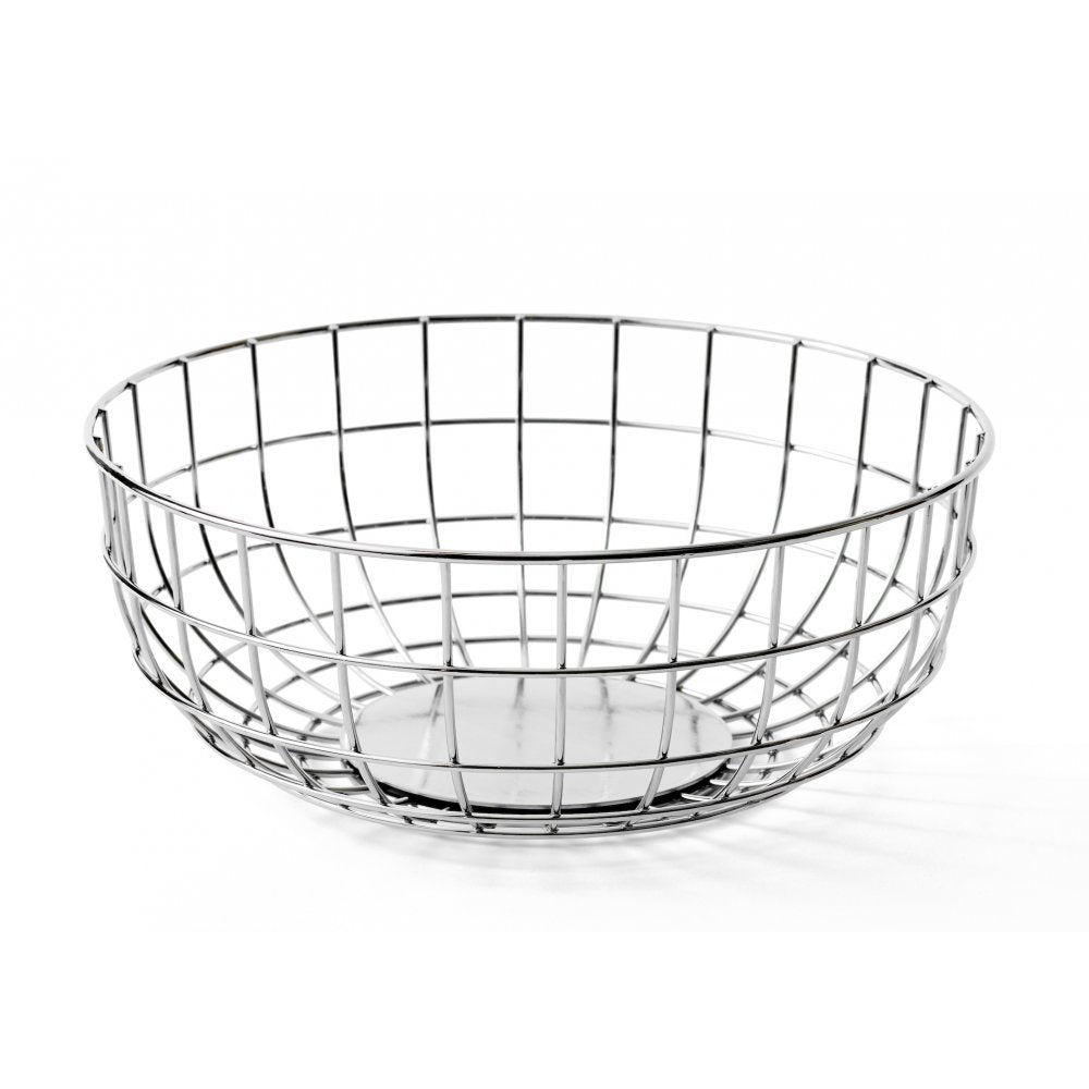 Menu - Wire Bowl - Chrome - In Stock