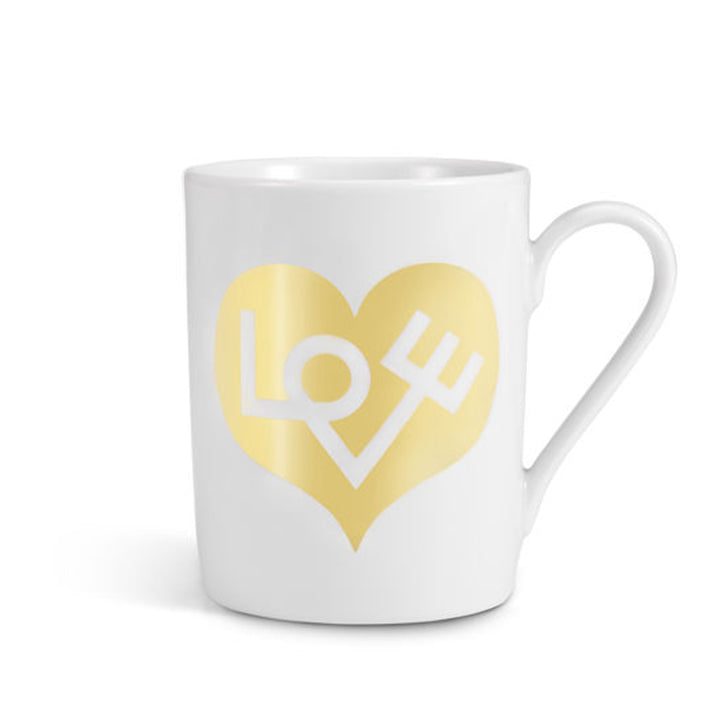 Vitra - Love Heart Coffee Mug (Gold) - In Stock - ready to ship - Vitra - WB Jamieson