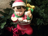 Campbell's Soup Kid Christmas Ornament 2001Advertising Collectible