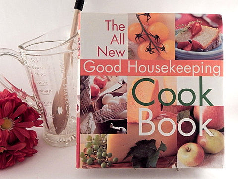 The All New Good Housekeeping Cookbook Over 1500 Recipes 2001 Color Illustrated Hardcover Gift Book