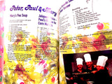 A Musical Feast Cookbook Recipes Photographs and Memoirs from Famous Musical Artists 1995 Global Liasons Food and Music Gift Book