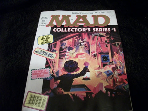 MAD Magazine Collectors Series 1 Special Edition Fall 1991 Alfred E Neuman Spoof Satire Comic Collectible