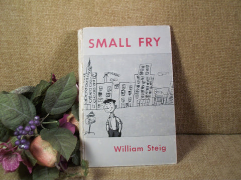 SMALL FRY by William Steig 1951 Edition Art Drawings of Children  Poignant Captions Humor The 1930-1940's New Yorker