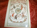 Kate Greenaway's Family Treasury  Gift Book Vintage 1979 Children's Story and Games Classic Tales Mother Goose Hardcover Color Illustrations