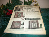 Etude Music Magazine Rare December 1939 Edition Christmas Secrets Santa Claus War Era Publication
