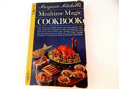 Margaret Mitchell's Mealtime Magic Cookbook Vintage 1964 Dell Pocket Book Paperback Mid-Century Cooking Recipes Homemaking Guide