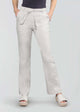 Linen Blend Trouser with Tie