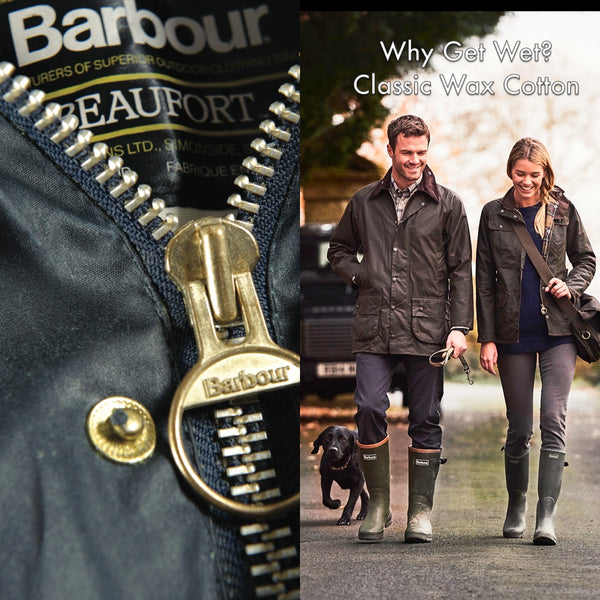 Barbour Classic Wax Beaufort Jacket