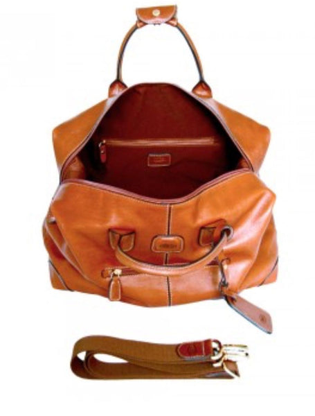 Leather Cargo Duffle