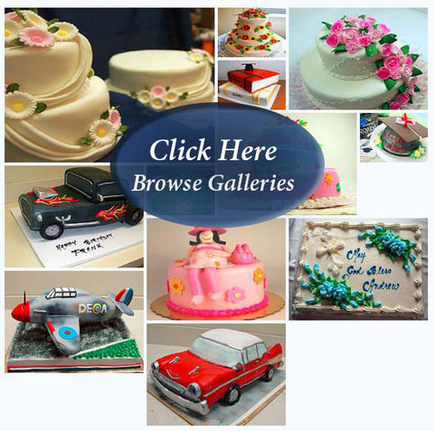 Browse Cake Galleries | Click Here