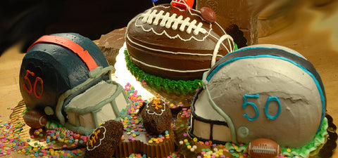 Superbowl Cakes - Football cakes