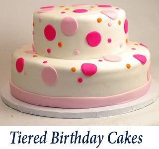 Tiered Birthday Cake Gallery