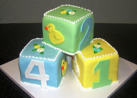 Baby Shower Cake 1 - Reinwald's Bakery