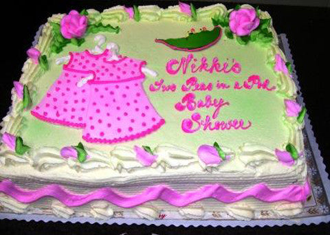 Baby Shower Cake 5 - Reinwald's Bakery