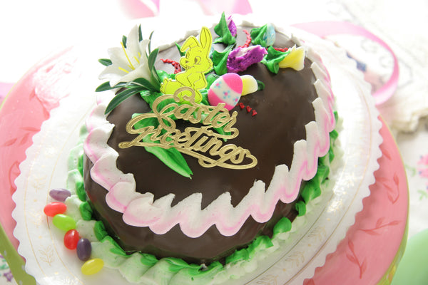 Chocolate Easter Egg Cake - Reinwald's Bakery