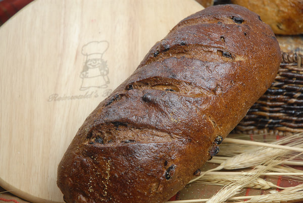 Pumpernickel Raisin Bread - Reinwald's Bakery