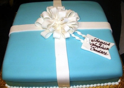 Jewelry Box Cake - Reinwald's Bakery