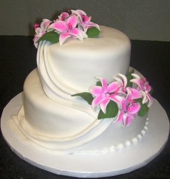 Wedding Cake 2 - Reinwald's Bakery