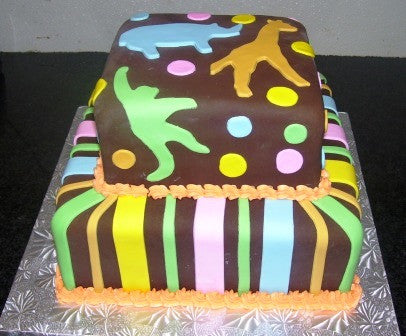 Animal Cut Out Cake (TB3) - Reinwald's Bakery