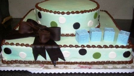 Baby Shower Cake 20 - Reinwald's Bakery