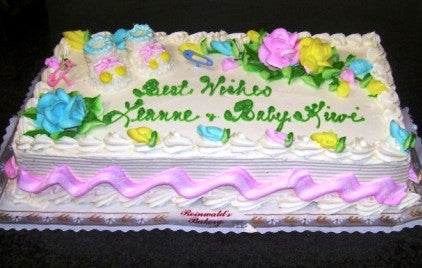 Baby Shower Cake 26 - Reinwald's Bakery