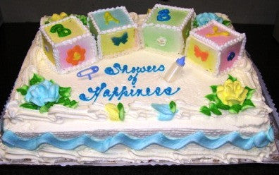 Baby Shower Cake 2 - Reinwald's Bakery - 2