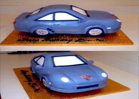 Sports Car Cake - Reinwald's Bakery