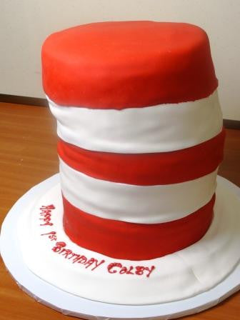 Cat In The Hat Cake - Reinwald's Bakery